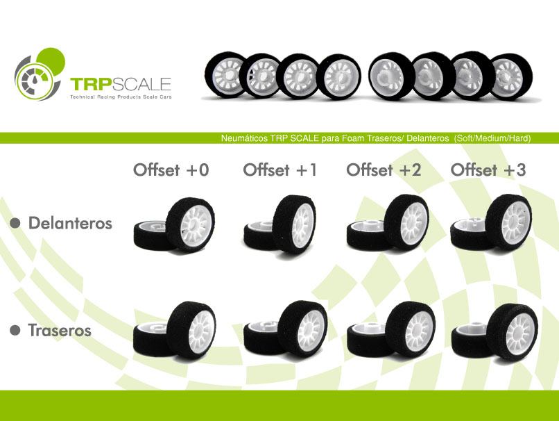 MiniZ foam tires